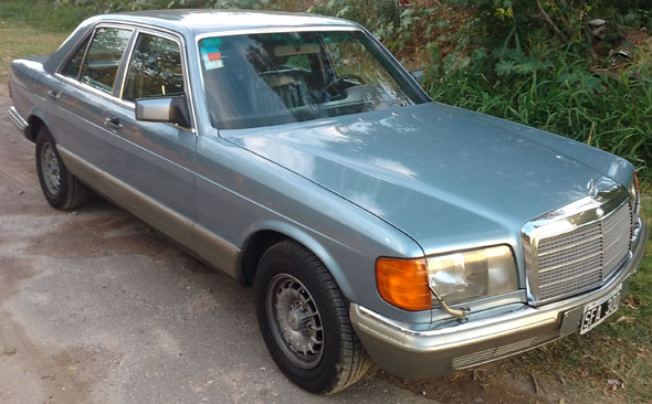 Car Mercedes Benz SE 280