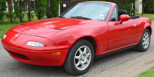 Auto Mazda Miata