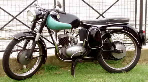 Motorcycle DKW 1960