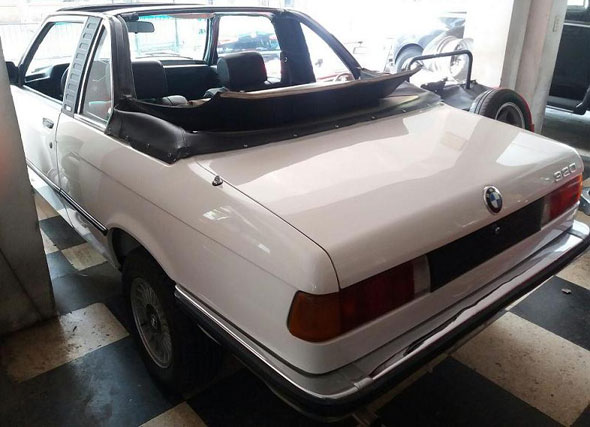 Car BMW 320 Baur
