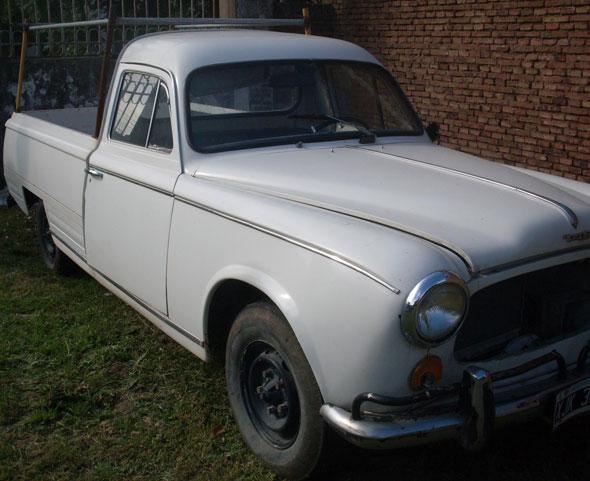 Car Peugeot T4B 403 1970