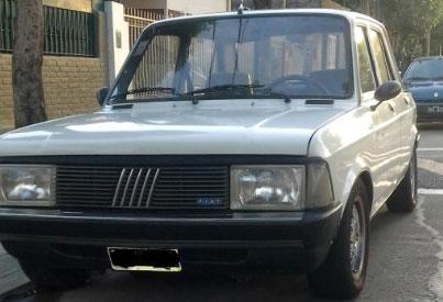 Auto Fiat 128 Super Europa