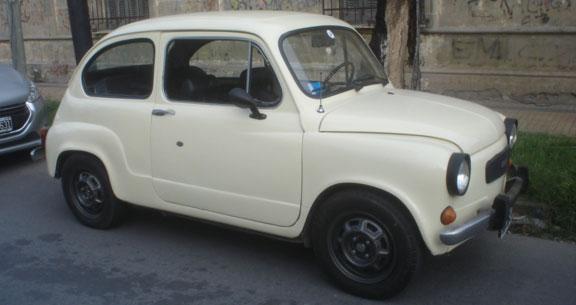 Auto Fiat 600 S 1980