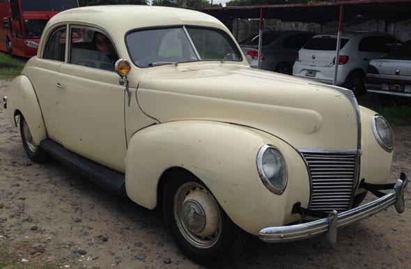 Auto Mercury 1939