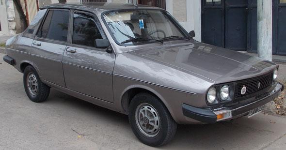 Car Renault 12 TL 1987