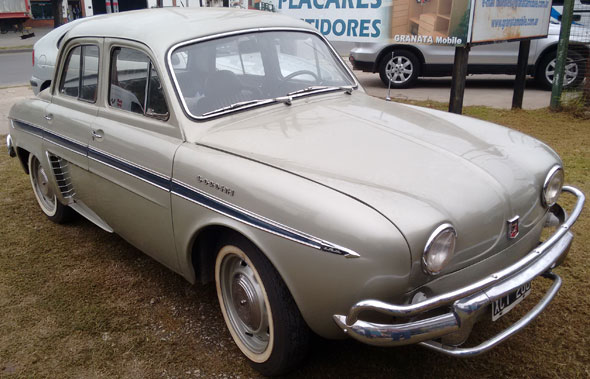 Car Renault Gordini 1964