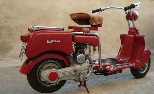 Moto Lambretta Tipo A 125