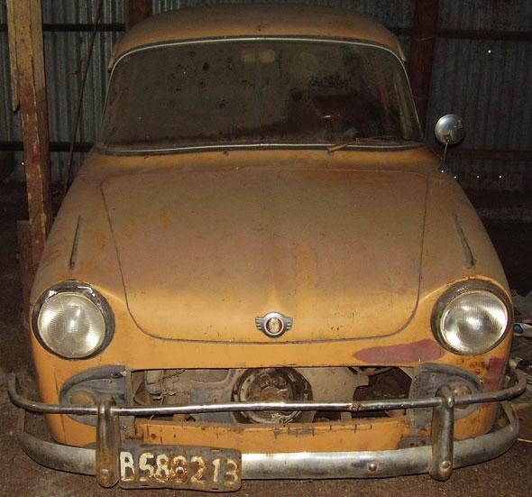 Auto Isard 700 1960