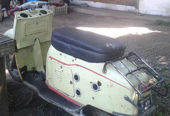 Motorcycle Maicoletta 1959