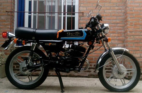 Motorcycle Zanella RZF 200 1979