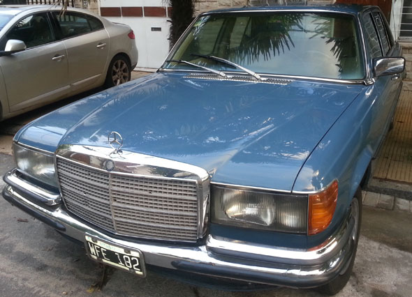 Car Mercedes Benz SE280 1979