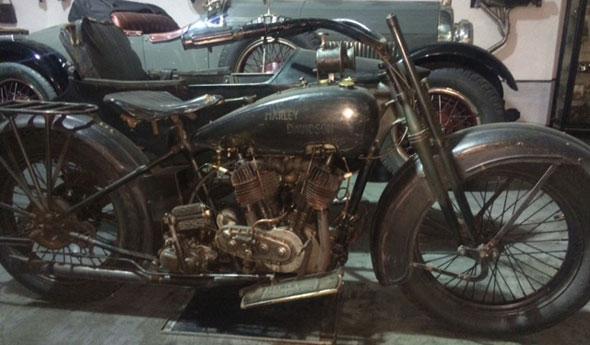 Motorcycle Harley Davidson FD 1000 1926