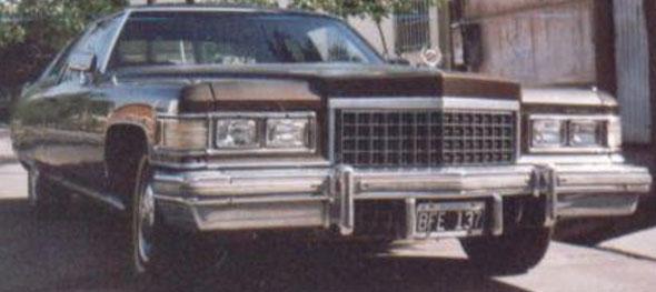 Car Cadillac 1976