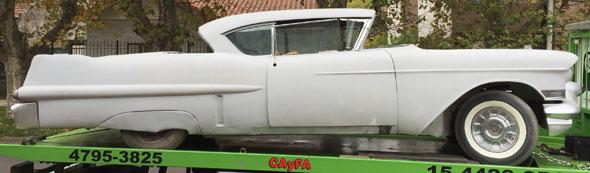 Car Cadillac Devile 1957