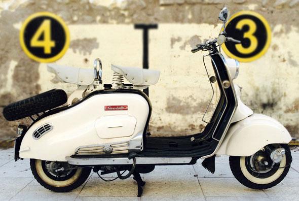 Moto Siambreta De Luxe