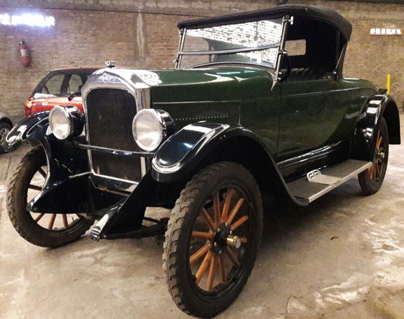 Auto Rugby Voiture 1929