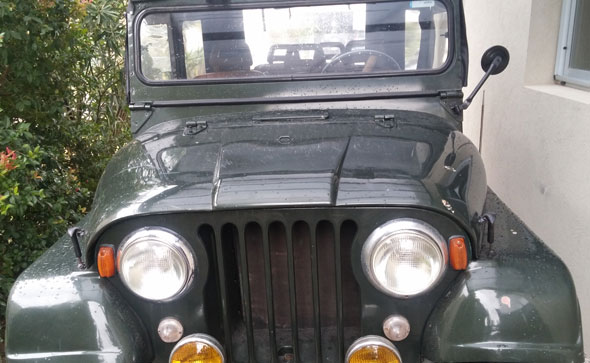 Car Jeep IKA 1966