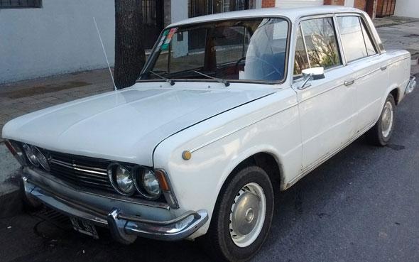 Car Fiat 1600 90hp