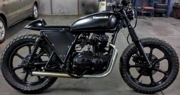 Motorcycle Kawasaki KZ 400