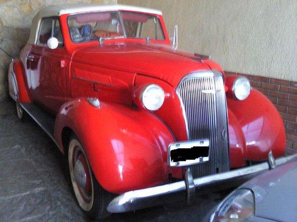 Auto Chevrolet 1937