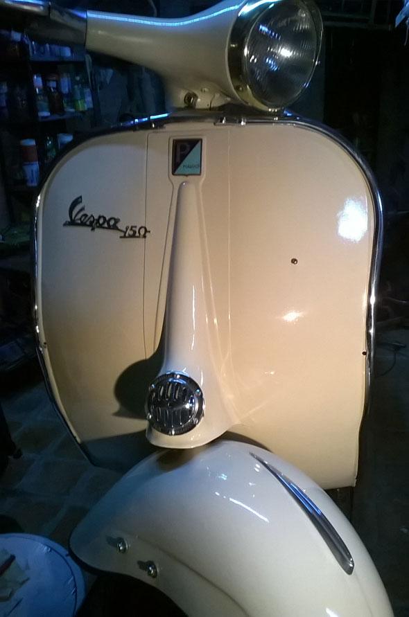 Motorcycle Vespa 1960
