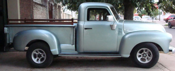 Auto Chevrolet 1947 Sapo