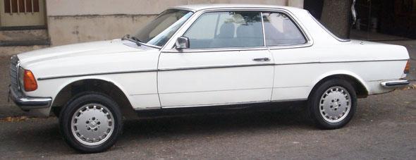 Car Mercedes Benz 1980 CE 230
