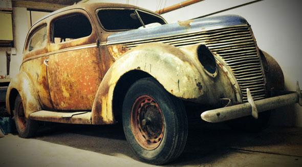 Auto Ford 1938