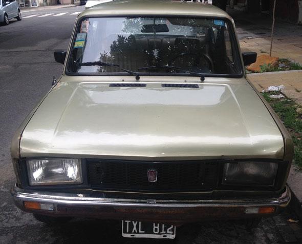Auto Fiat 125 Mirafiori