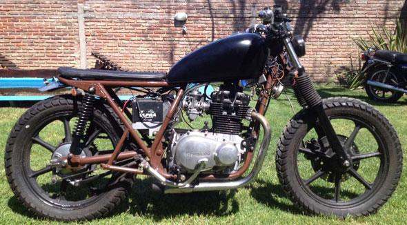 Motorcycle Kawasaki KZ440