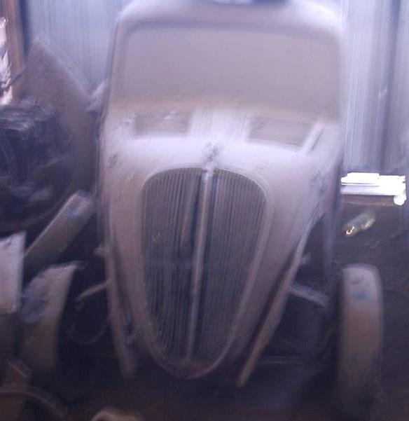 Car Fiat Topolino