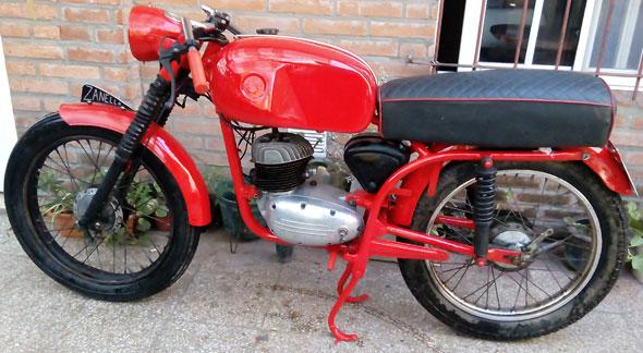 Motorcycle Zanella Ceccato 125 1965