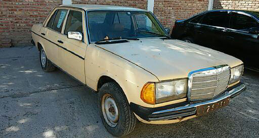 Car Mercedes Benz 300 D 1981