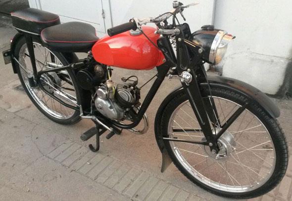 Motorcycle Puma 1958