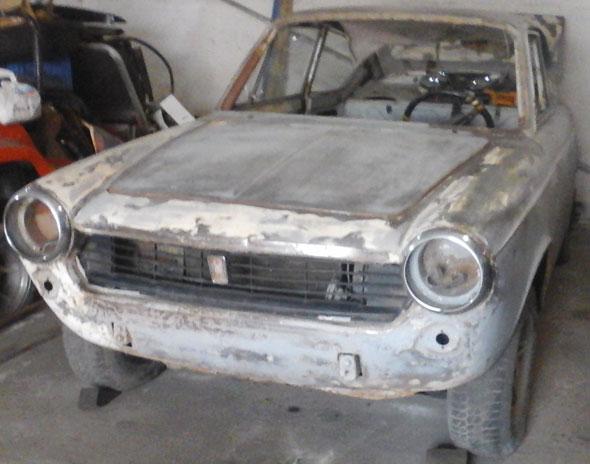 Auto Fiat Coupé 125