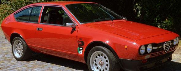 Car Alfa Romeo GTV 2.0