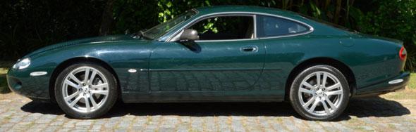 Car Jaguar XKR 1998