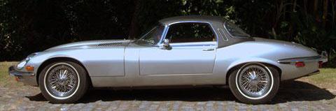 Auto Jaguar E Type V12 Convertible