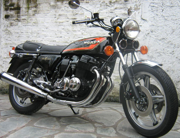 Moto Honda CB750 F2