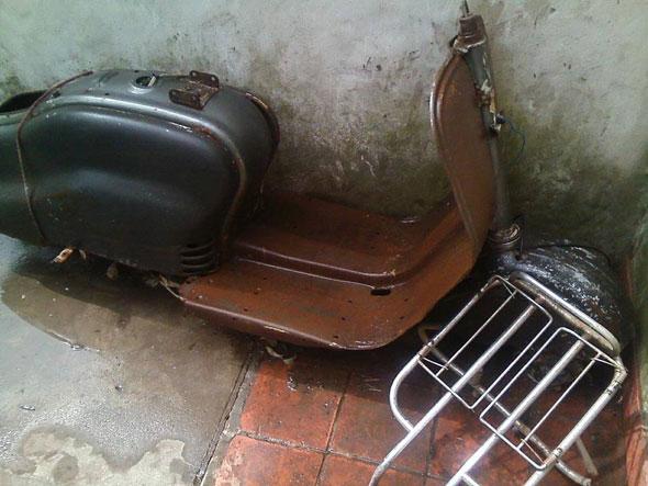 Motorcycle Lambretta 1961