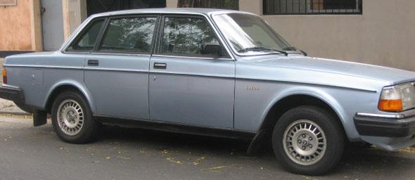 Car Volvo 240