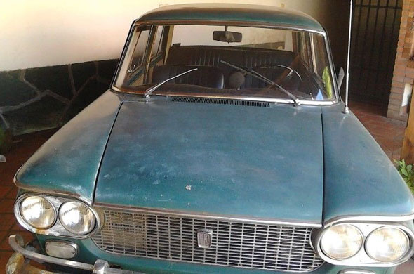 Car Fiat 1500 1964