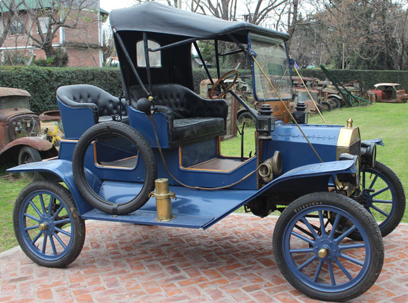 Car Ford T 1912