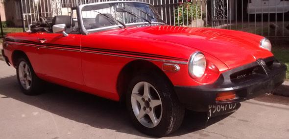 Auto MG B 1979