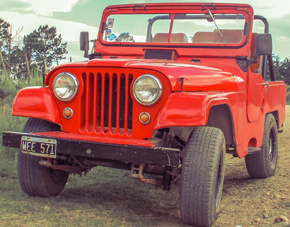 Car Jeep IKA 1958