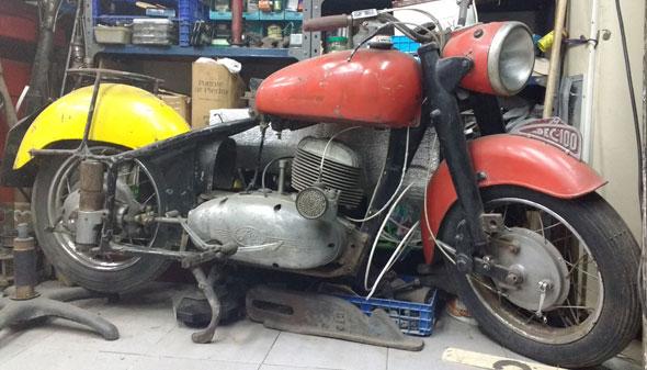 Motorcycle ISO 250 Moto