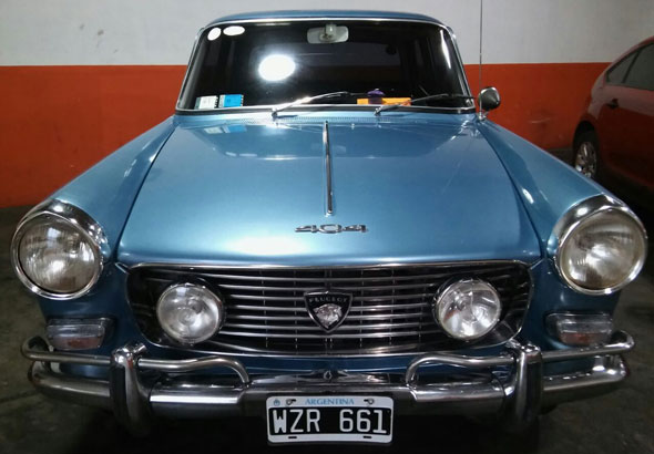 Car Peugeot 404 1969