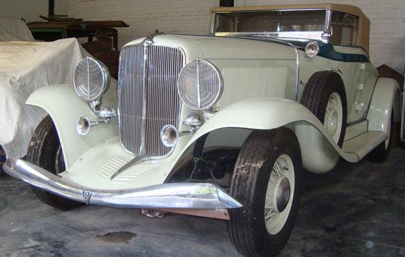 Car Auburn 1933 Cabriolet