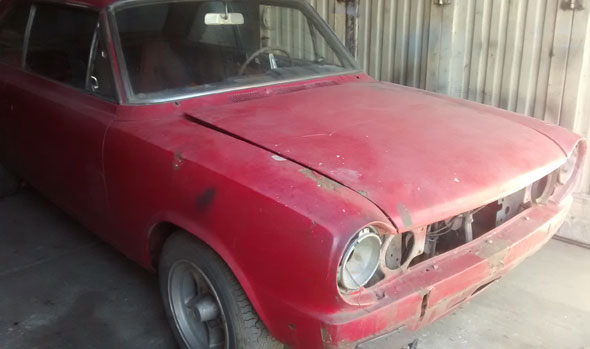 Car Renault Coup� Torino TS