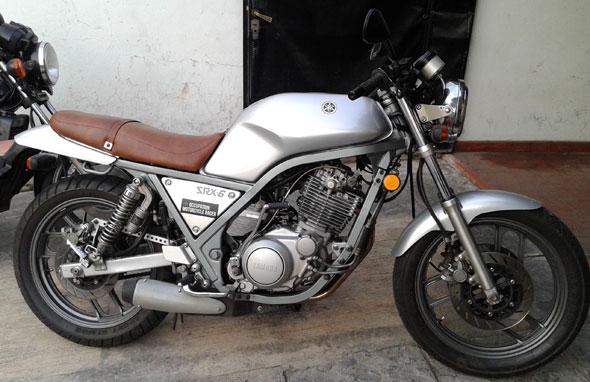 Motorcycle Yamaha SRX6